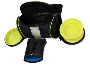 The Ultimate Food and Water Travel Belt - Canine Cardio