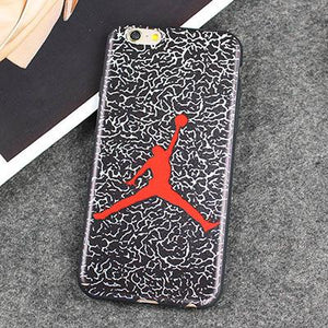 NBA Jordan Soft Cases Covers for iPhone X 8 7 6 6S