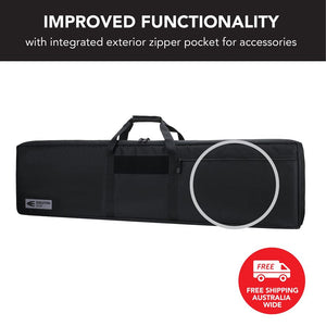 Double Rifle Gun Case Black Evolution Gear
