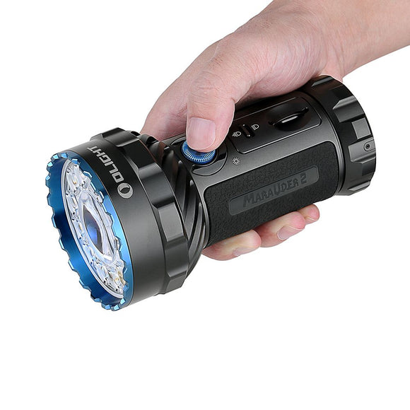 Olight Marauder 2 Torch 14000 Lumens Rechargeable Tactical LED Torch Black