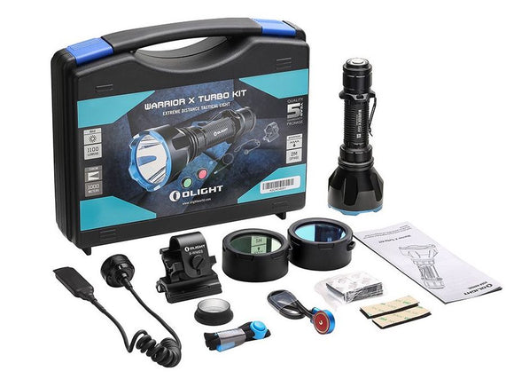 Warrior X Turbo Kit Hunting Torch Olight