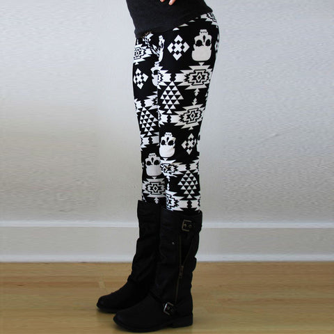 Comfy Patterned Stretchy Leggings