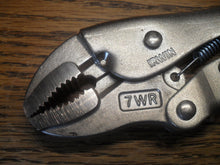 "7"" VISE GRIP (IRWIN) 7WR Locking Pliers Curved Jaw With Wire Cutter (90510-1)"