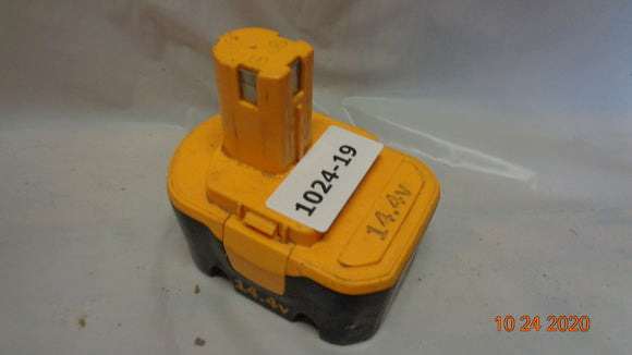 Ryobi 130224010 14.4 Volt Volt Battery ***FOR PARTS OR FIX*** (1024-19)