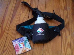 Sportiva Oasis 72700100801 Waistpack Fanny Pack & Water Bottle - NEW OLD STOCK