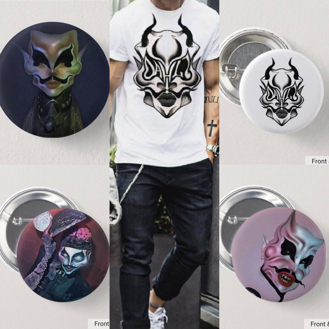 Dahli Stan Bundle (Logo Tee /Button set)