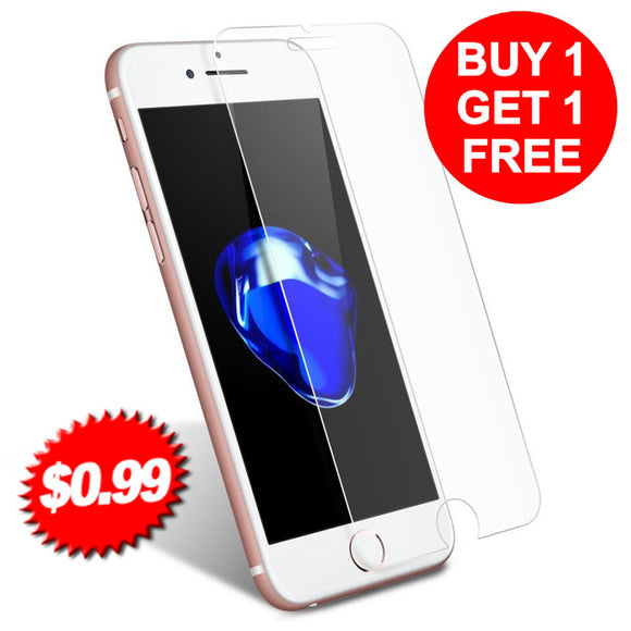 9H Premium Tempered Glass screen protector for all iphone  models