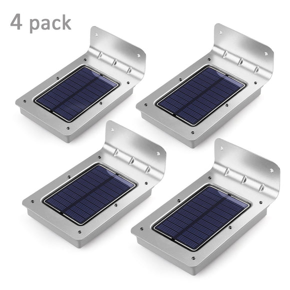 Outdoor Wireless Solar Light With Motion Sensor And 16 LEDs