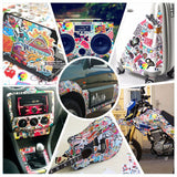Car Styling decal Stickers for Graffiti Car Covers  set of 100