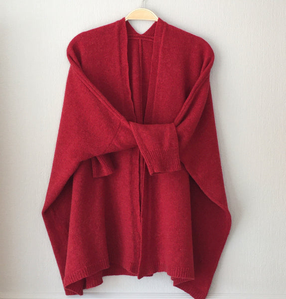Cardigan Edge to Edge Boxy Style (no buttons)  Made to Order