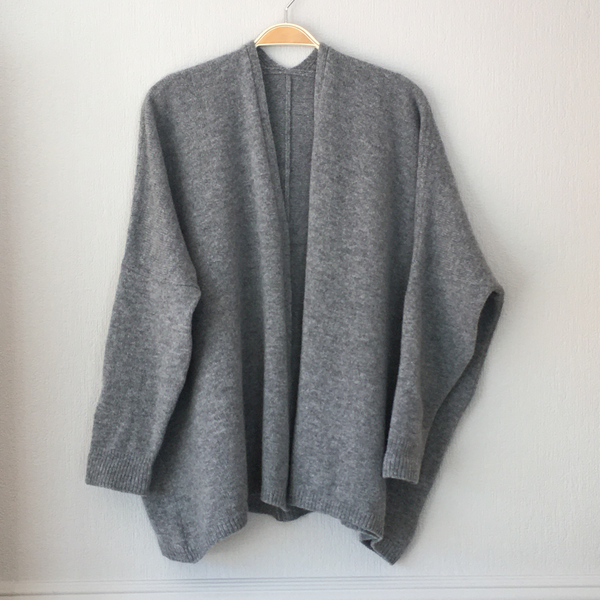 Edge to Edge Boxy Cardigan Made to Order