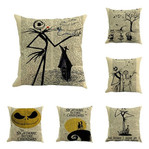 6PC/set Halloween Cushion Cover home Car Bed Sofa - Merchandise Inn
