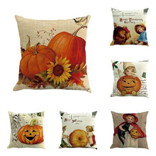 Load image into Gallery viewer, 6PC/set Halloween Cushion Cover home Car Bed Sofa - Merchandise Inn