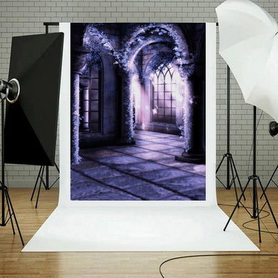 Halloween Backdrops Pumpkin Vinyl 3x5FT Lantern - Merchandise Inn