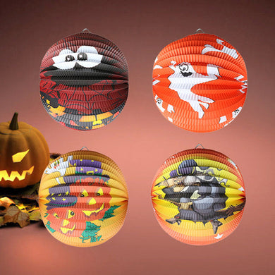Halloween Pumpkin Paper Lantern, Hanging Light - Merchandise Inn