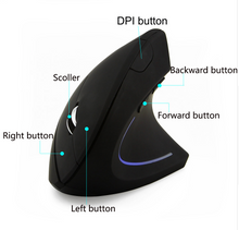 Load image into Gallery viewer, Wireless Vertical Mouse - Merchandise Inn