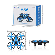 Load image into Gallery viewer, JJRC H36 Mini H20 Drone RC Quadcopters Headless Mode One Key Return RC Helicopter Best Toys For Kids - Merchandise Inn