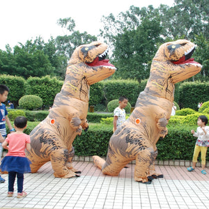 Adult  T-REX Inflatable Costume Christmas Cosplay for Women Men - Merchandise Inn