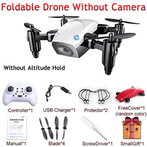 S9 S9W S9HW Foldable Mini Pocket Micro Drone RC Helicopter With HD Camera Altitude Hold - Merchandise Inn