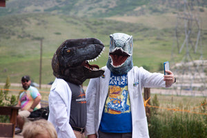 Dinosaur Ridge hosts dinosaurs at Brontos & Brews Festival: This is our kind of party!