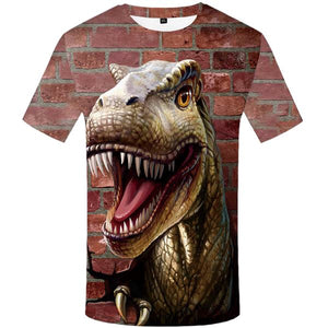 T-Rex Hits a brick Wall T-Shirt