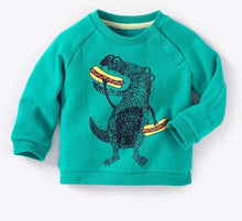 Hungry Hungry Dino Kids Cotton Sweatshirt
