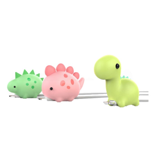 Kawaii Dinosaur Cable Bite Protector