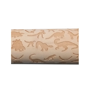 Dino Embossing Rolling Pin