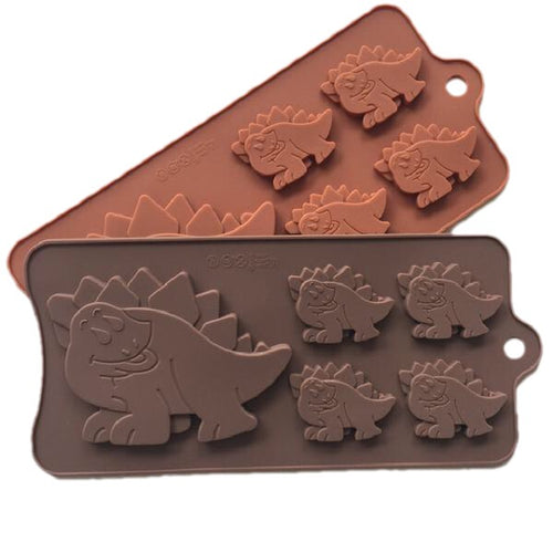 Dinosaur Silicone Cookie Ice Mold Pan