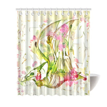 "TheDinostaur.com Exclusive Jurassice Garden Pteranodon Bouquet Shower Curtain 72""x84"""