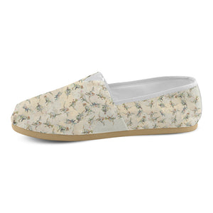 Jurassic Blossom Casual Canvas Women's Shoes Slip-Ons