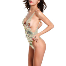Plunge Bloom Women's One-Piece Swimsuit