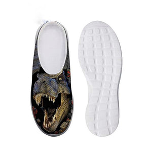Mens Air Mesh T-rex Slip-on Shoes
