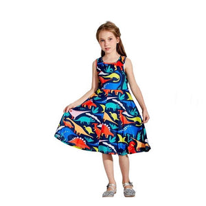 Princess Dinosaur Dress