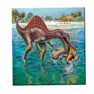 Diy Diamond Painting Cross Stitch Hungry Dino pescatarian