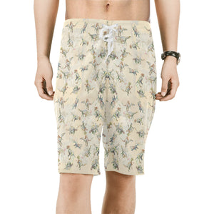 Jurassic Blossom Boardshorts Exclusive Dinostaur Design