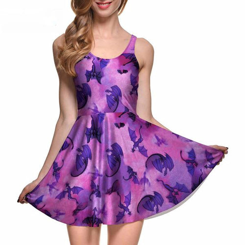 Dragon Skater Dress