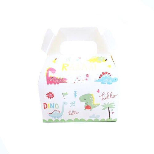 8 piece Happy Dinosaur Party Theme Box