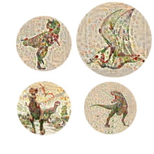 Jurassic Garden Collection Canvas Print