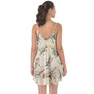 Jurassic Blossom Love The Sun Cover Up Exclusive Dinostaur Design