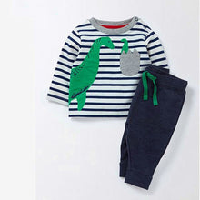Striped long sleeve children's top