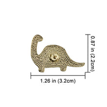 Cute Dinosaur Enamel & Metal Pin