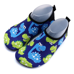 Children  Swim Cartoon Dinosaur Sneaker Shoe High Elasticity Water Aqua Socks Quick Drying Breathable Kids Surf Shoes