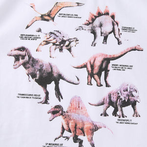 Name That DinoCrop Top Cotton T-shirt