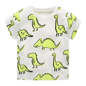 Fridge Art Dinosaur Kids T-Shirt