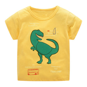 T-Rex Facts Dinosaur Kids T-Shirt