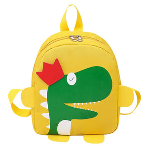 Dinosaur Royalty Zipper Backpack Travel Bag 5 Color Options