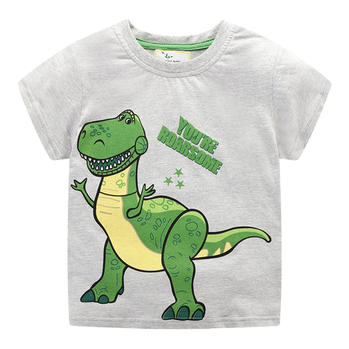 """ You Are Awesome"" Rex Toy Story Cotton T-Shirt"