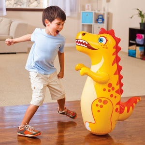 3D Inflatable Dinosaur Toy Bop Punching Bag