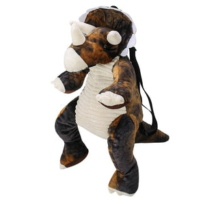 Plush Triceratops Backpack